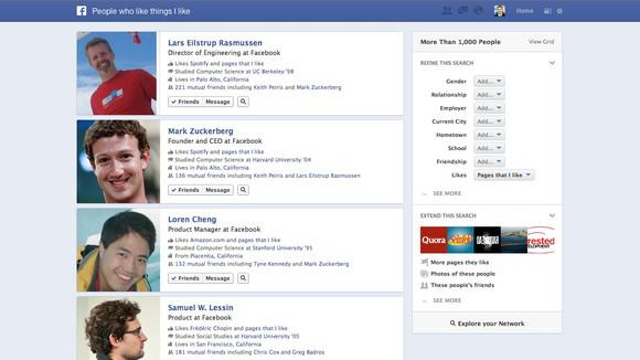 Facebook Graph Search (Grafik Arama) Nedir ve Nasıl Çalışır?