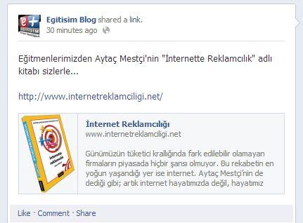 Egitisim Blog - Facebook sayfasi - 12.02.2013